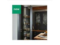 NEW B&Q PULL OUT KITCHEN 5 BASKET UNIT FITS 300MM CABINET