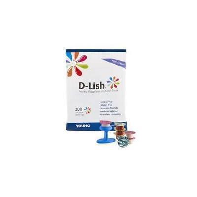 Young Dental 300010 Prophy Paste W D-lish Taste Mint Coarse 200 Cupsbx