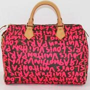 Louis Vuitton Graffiti Speedy