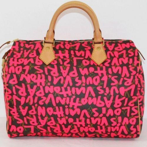 3ced80566723 Louis Vuitton Graffiti Speedy
