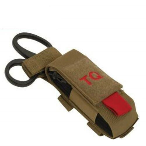 New North American Rescue NAR GEN 7 CAT Tourniquet, Shears, Coyote Molle Pouch