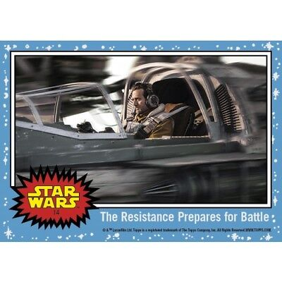 THE RESISTANCE PREPARES FOR BATTLE CARD 14 COUNTDOWN TO STAR WARS THE LAST JEDI