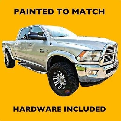 NEW 2014 2015 Dodge Ram 2500 3500 Truck Painted Fender Flares to Match - W/Bolts