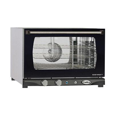 Cadco Xaf-113 Countertop Electric Convection Oven - 3 Half Size Pan Capacity