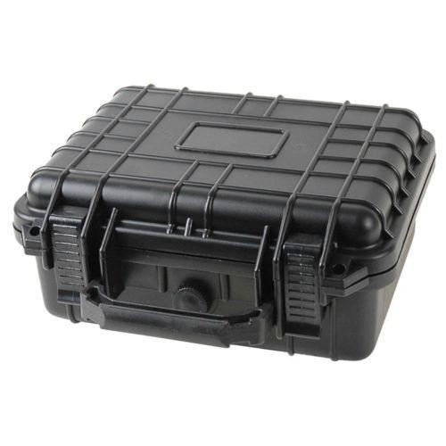 "10"" Marine Weatherproof Dry Box Case Iphone Camera Gun W Pel"