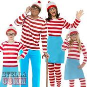 Wheres Wally Fancy Dress Adults