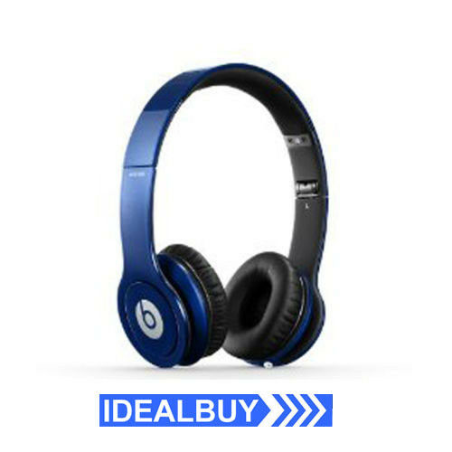 Beats Solo HD On-Ear Wired Headphone with Audio Cable and Carry Pouch