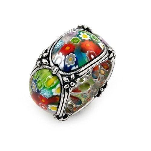 Pop Perfect Ring Diamontrigue Jewelry: Top 5 Millefiori Jewelry Designs