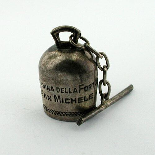 Original WWII Capri San Michele Campanina Della Fortuna Vtg Lucky Little Bell