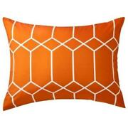 Orange Pillow Shams