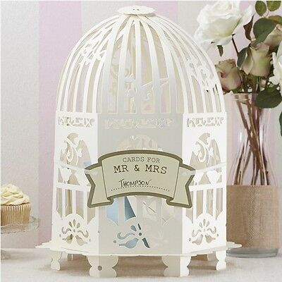 Vogelkäfig creme Hochzeit Vintage Deko (Vintage Bird Cage)
