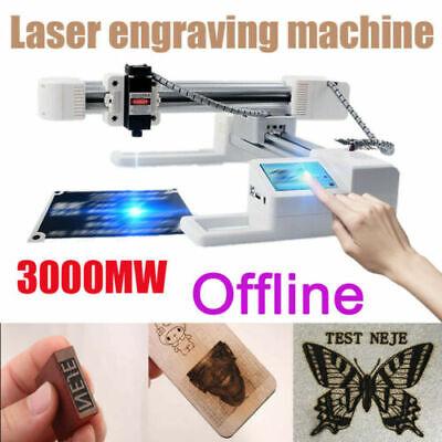 Diy 3000mw Laser Engraver Kit Logo Engraving Carving Machine Printer Desktop Usa