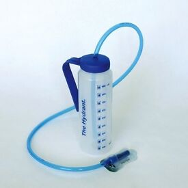 Hydrant Drinking Bottle with Tube Hands free drinking aid disabled from the bed, chair or wheelchair