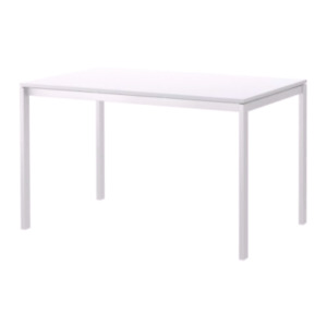 IKEA Melltorp dining table and Jeff chairs