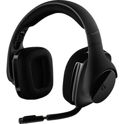 Logitech - G533 Elite Wireless Over-the-ear Headphones - Bla