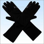 Handschuhe Weiß Lang