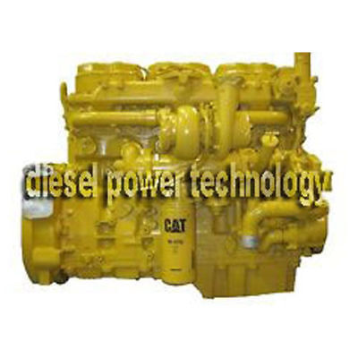Caterpillar C7 Remanufactured Used Diesel Engine Complete Engine