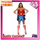 Wonder Woman Polyester Dress Costumes for Women