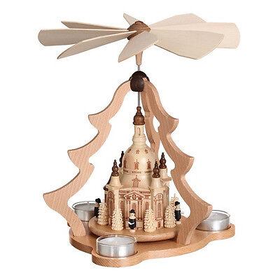 Zeidler Weihnachts-Pyramide Dresdner Frauenkirche (0526) Erzgebirge Seiffen