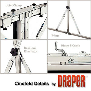 Cinefold Portable Projection Screen Belleville Belleville Area image 3