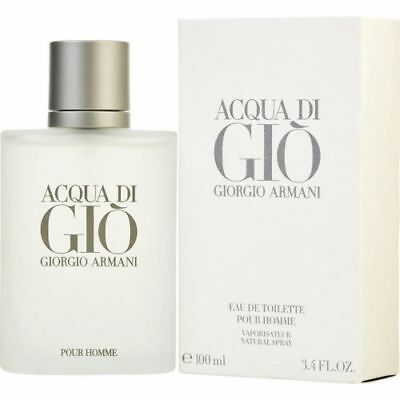 GIORGIO ARMANI Acqua Di Gio 3.4 oz / 100 ml EDT Cologne for MEN new SEALED