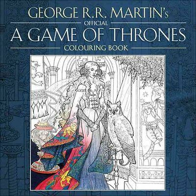 The Official A Game of Thrones Colouring Book 9780008157906 (Paperback, 2015)