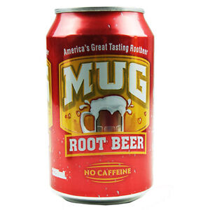 MUG ROOT BEER - 24 X 325ml CANS