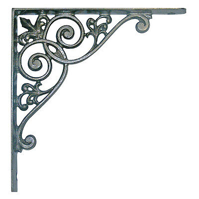 Pair of Victorian style cast iron shelf brackets REDUCED FROM £16.99