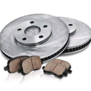 2011 dodge charger w/police  front brake rotor and ceramic pads