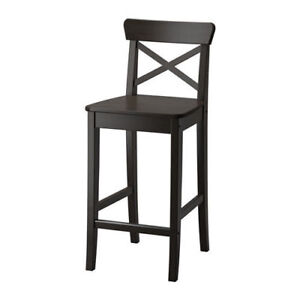 Two Ingolf bar stools