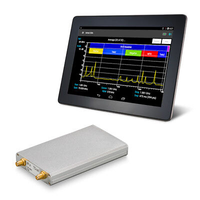 Rf Spectrum Analyzer Arinst Ssa Tg Lc With Tracking Generator Up To 3 Ghz