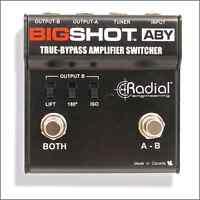 Radial big shot Aby pedal