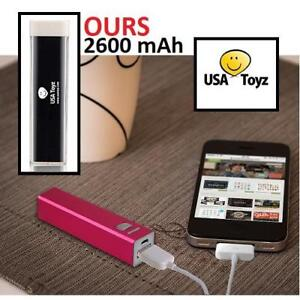 NEW USA TOYZ PORTABLE CHARGER 227290524 2600 mAh UNIVERSAL QUADCOPTER DRONE USB EXTERNAL BATTERY PACK MOBILE CELL PHONE