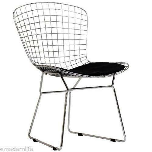 harry pad main potato bertoia seat a side in with chrome knoll company products chair couch