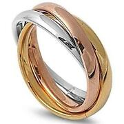 Gold Rolling Ring