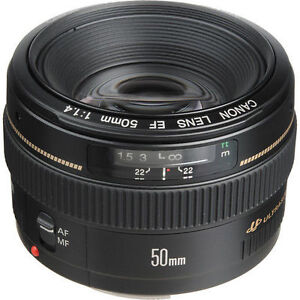 Canon EF 50mm F/1.4 Lens Brand New Condition