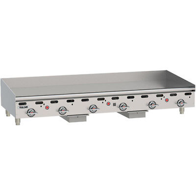 Vulcan Msa72-1 Commercial Natural Gas Griddle - Heavy Duty Griddle - 70