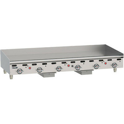 Vulcan Msa72-1 Commercial Natural Gas Griddle - Heavy Duty Griddle - 72