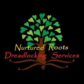 NURTURED ROOTS Dreadlocking Service - mobile loctician in Bristol for dreadlocks dreads