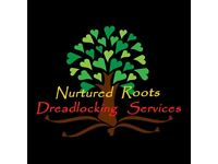 NURTURED ROOTS Dreadlocking Service - mobile loctician in Bristol for dreadlocks dreads