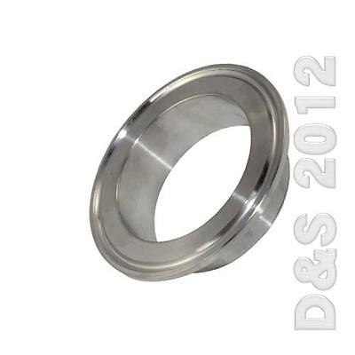 10x 2 51mm Od Sanitary Pipe Weld On Ferrule Tri Clamp Type Stainless Steel 316