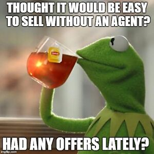 I want to buy a house without an agent.