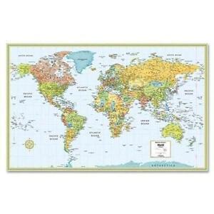 Rand McNally Map EBay - Laminated folding us map