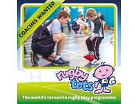 Rugbytots coaches wanted