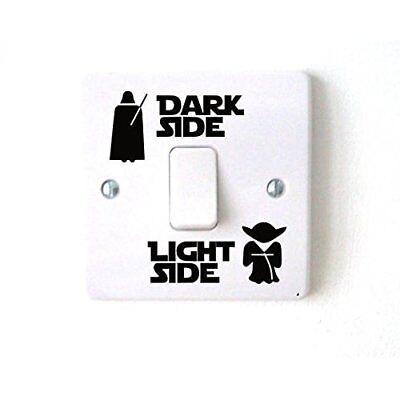 Star Wars 'Light Side/Dark Side' Light Switch Novelty Decal Wall Sticker