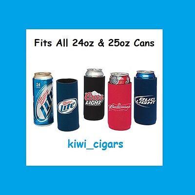 (2) Bud Light 25oz Beer Coolie Koozie Miller Lite Budweiser Coors IPA 24oz *New*