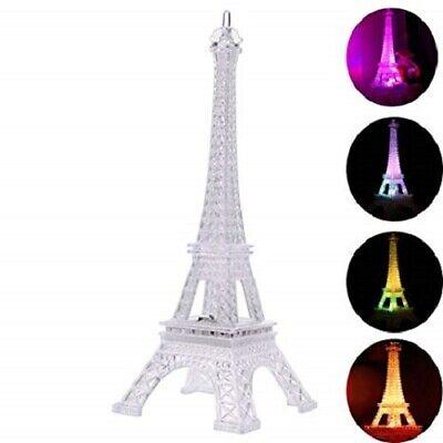 NEW  Eiffel Tower Nightlight Desk Bedroom Decoration LED Lamp Paris Fashion 10
