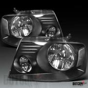 F150 Black Headlights