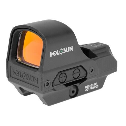 Holosun HE510C-GR Green Dot Open Reflex Sight