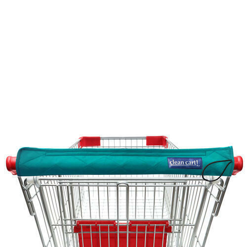 TEAL Clean Shopping Cart Handle Guard Reusable Cover Sanitary Washable Wipeable
